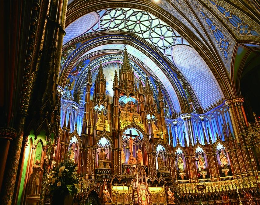 モントリオール・ノートルダム大聖堂/カナダ(11月/12月)